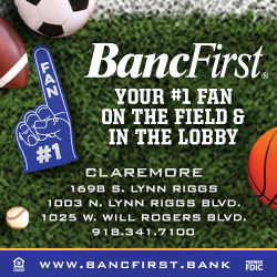 BancFirst Claremore 250 Pryor Hub