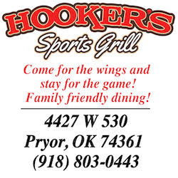 Hookers Sports Grill Pryor 250