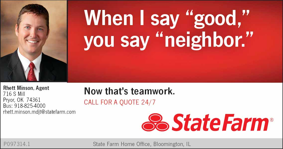 Rhett Minson Pryor State Farm